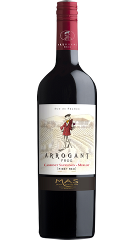 Arrogant Frog Ribet Red Cabernet  Merlot 2018 750ml