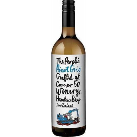 The Peoples Pinot Gris 750ml - Liquor Mart online gifts NZ