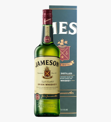 Jameson Irish Whiskey, 700ml Gift Box