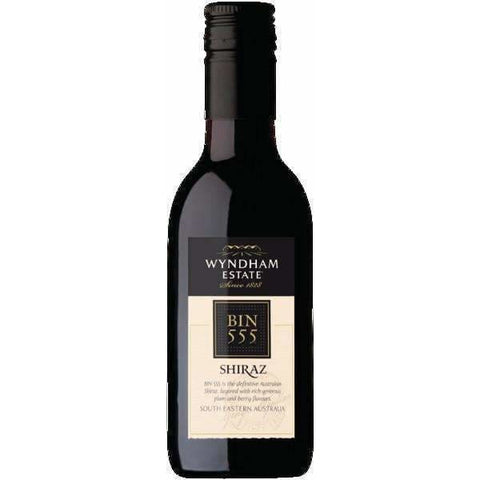 WYNDHAM B555 SHIRAZ 187ML - Liquor Mart online gifts NZ