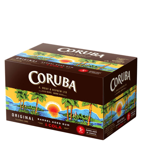Coruba Original and Cola 5% 250ml Can
