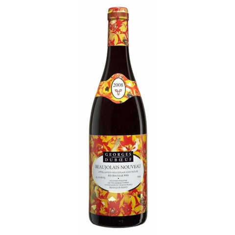 Georges Duboeuf Beaujolais Nouveau 750ml - Liquor Mart online gifts NZ