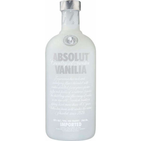 ABSOLUT VODKA VANILIA NZ 700ML - Liquor Mart online gifts NZ