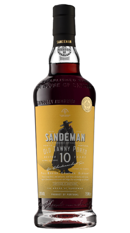 Sandeman 10 Year Old Port, 750ml - Liquor Mart