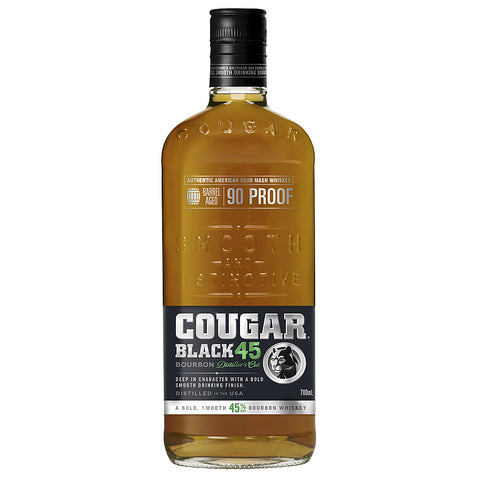 Cougar black Bourbon 45%, 700ml