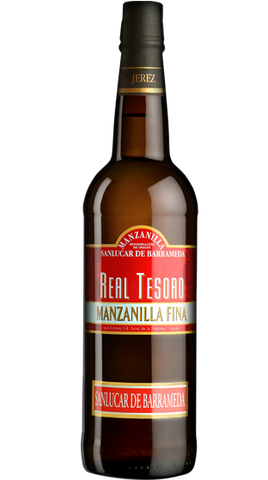 Real Tesoro Manzanilla, 750ml - Liquor Mart