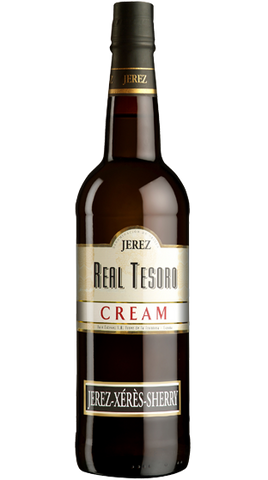 Real Tesoro Cream Sherry, 750ml - Liquor Mart