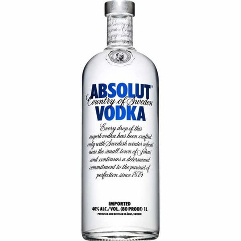 ABSOLUT VODKA 1L - Liquor Mart online gifts NZ