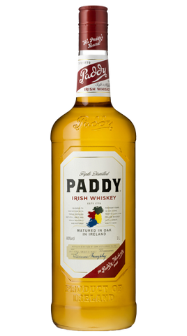 Paddy Irish Whiskey  1L