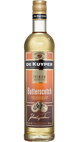 De Kuyper Butterscotch Schnapps, 700ml - Liquor Mart