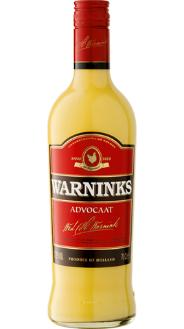 De Kuyper Warnicks Advocaat, 700ml - Liquor Mart