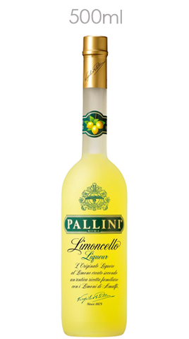 Pallini Limoncello, 500ml - Liquor Mart