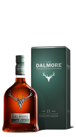 Dalmore 15 Year Old Whisky  700ml
