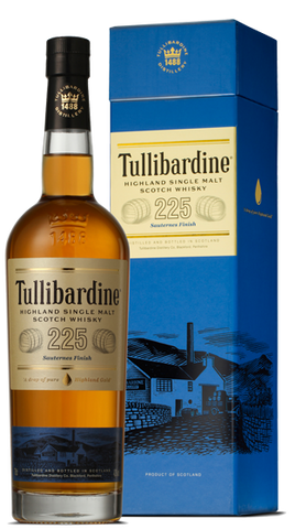 Tullibardine Whisky 225 Sauternes Finish, 700ml - Liquor Mart