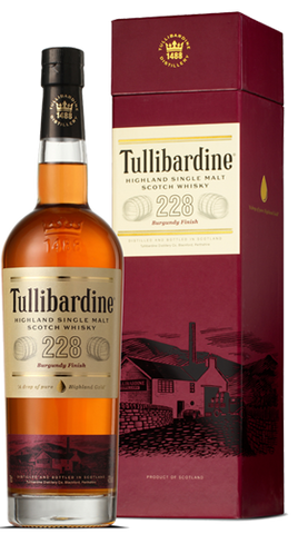 Tullibardine Whisky 228 Burgundy Finish, 700ml - Liquor Mart