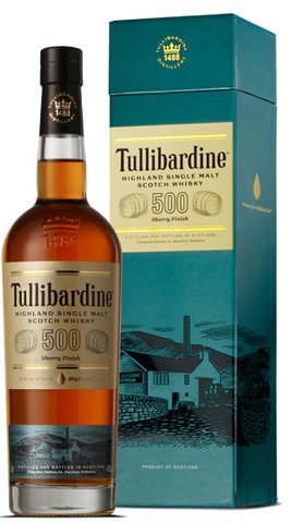 Tullibardine Whisky 500 Sherry Finish, 700ml - Liquor Mart