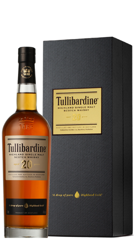 Tullibardine Whisky 20 Y/O, 700ml - Liquor Mart