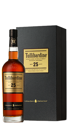 Tullibardine Whisky 25 Y/O, 700ml - Liquor Mart