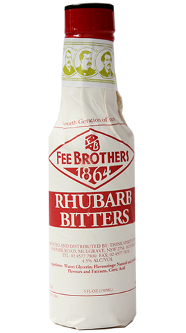 FEE BROTHERS Rhubarb Bitters 150ml - Liquor Mart