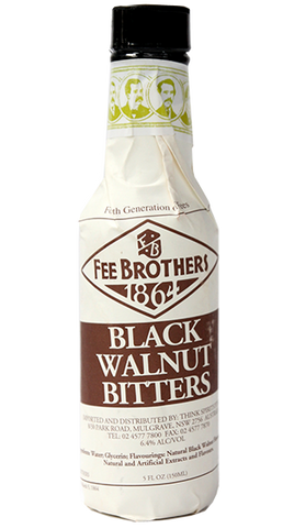 FEE BROTHERS Black Walnut  Bitters 150ml - Liquor Mart