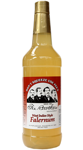 FEE BROTHERS Falernum Syrup 1L - Liquor Mart
