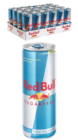 Red Bull Sugar Free 24 Pack 250ml (24pk only)