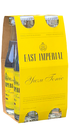 East Imperial Yuzu Tonic  6x4 pack (24x150mL) - Liquor Mart online gifts NZ