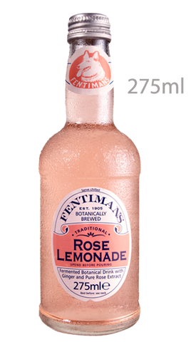 FENTIMANS Rose Lemonade 275mL 12Bottles - Liquor Mart
