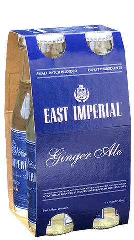 East Imperial Dry Ginger Ale  6x4 pack (24x150mL) - Liquor Mart online gifts NZ
