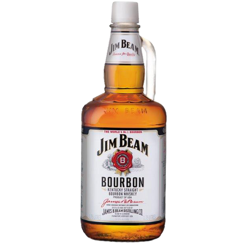 Jim Beam White Label Bourbon 1.75L