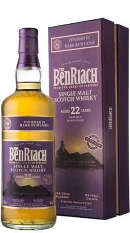 Benriach 22YO Dark Rum Barrel Finish