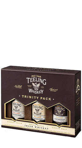 Teeling  Irish Whiskey Trinity Pack , 150ml - Liquor Mart online gifts NZ