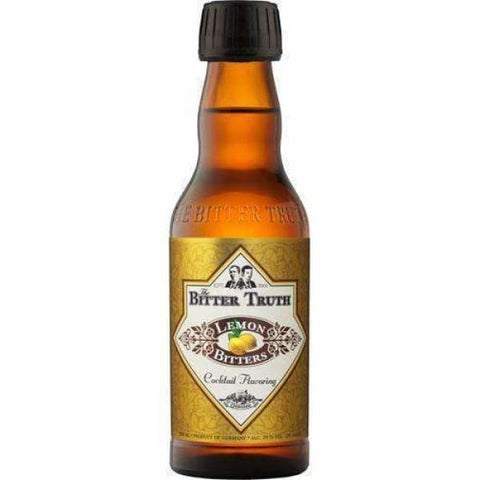The Bitter Truth Lemon Bitters 39%, 200ml - Liquor Mart online gifts NZ