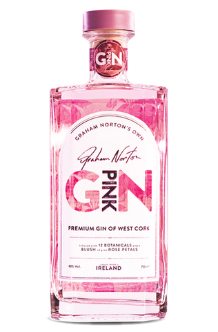 Graham Norton's Own Irish Pink Gin 40% 700ml