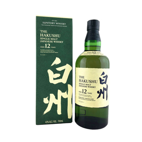 THE HAKUSHU 12YO SINGLE MALT WHISKY 700ML
