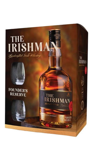 The Irishman Founders Reserve Whiskey 40% 700ml (Glass Pack)