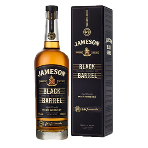 JAMESONS BLACK BARREL IRISH WHISKEY 700ML - Liquor Mart online gifts NZ