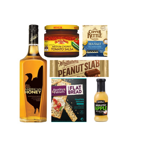 American Honey 700ml Gift hamper