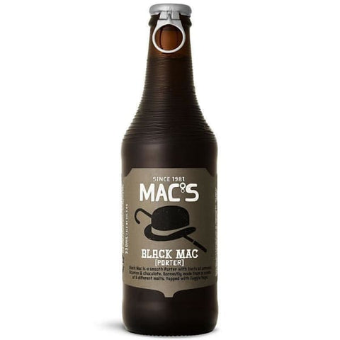 Macs Black Mac Porter 6pk 330ml Btls - Beer
