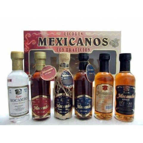 MOCAMBO MEXICAN GFT SET 6*50ML - Liquor Mart online gifts NZ