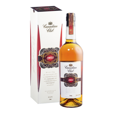 CANADIAN CLUB 1960s 750ML