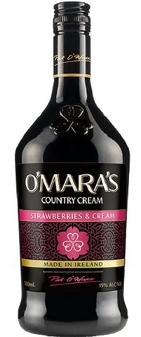 OMaras Irish Cream Strawberries 750ml