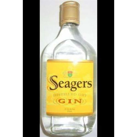 Seagers Gin Hip Flask 375ml - Liquor Mart online gifts NZ