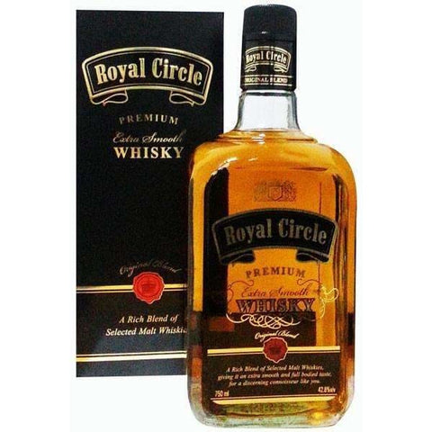 Royal Circle Indian whisky 750ml 42.8% - Liquor Mart online gifts NZ
