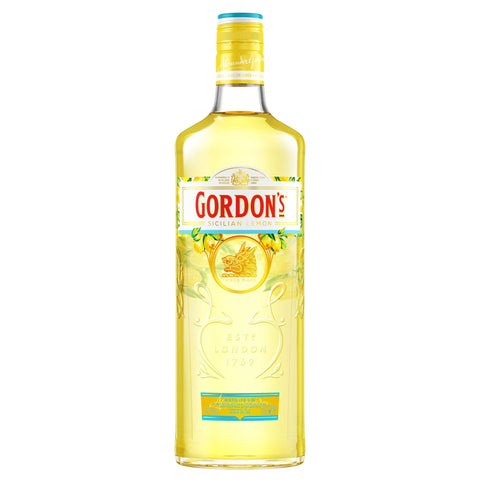 Gordon's Sicilian Lemon Flavoured Gin 37.50%