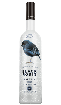 Chatham Islands Black Robin Gin, 750ml