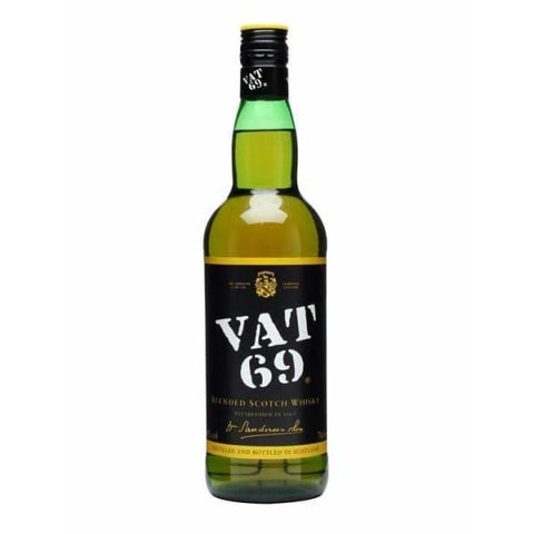 VAT 69 Whisky 40% 1L - Liquor Mart online gifts NZ