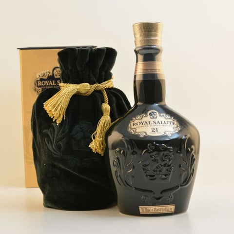 Chivas Regal Royal Salute Scotch 21YO The Emerald Flagon - Whiskey