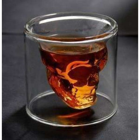Skull shot glass - Liquor Mart online gifts NZ