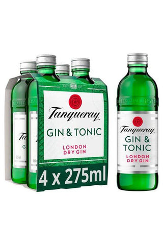 Tanqueray Gin & Tonic 4 PACK Bottle